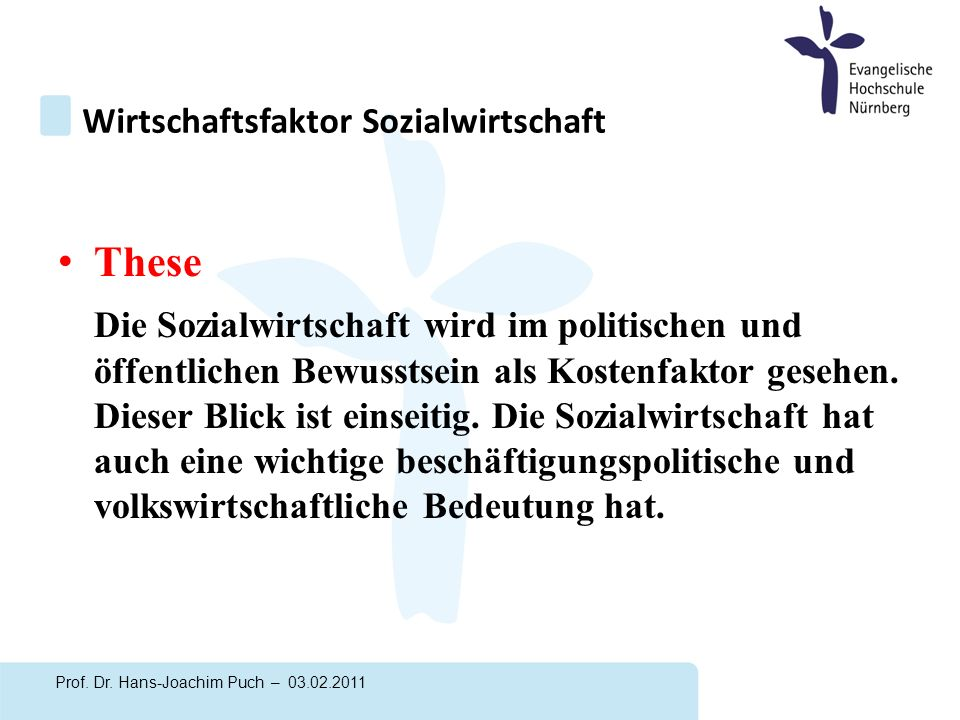 Studie Sozialwirtschaft Bayern Prof.Dr.