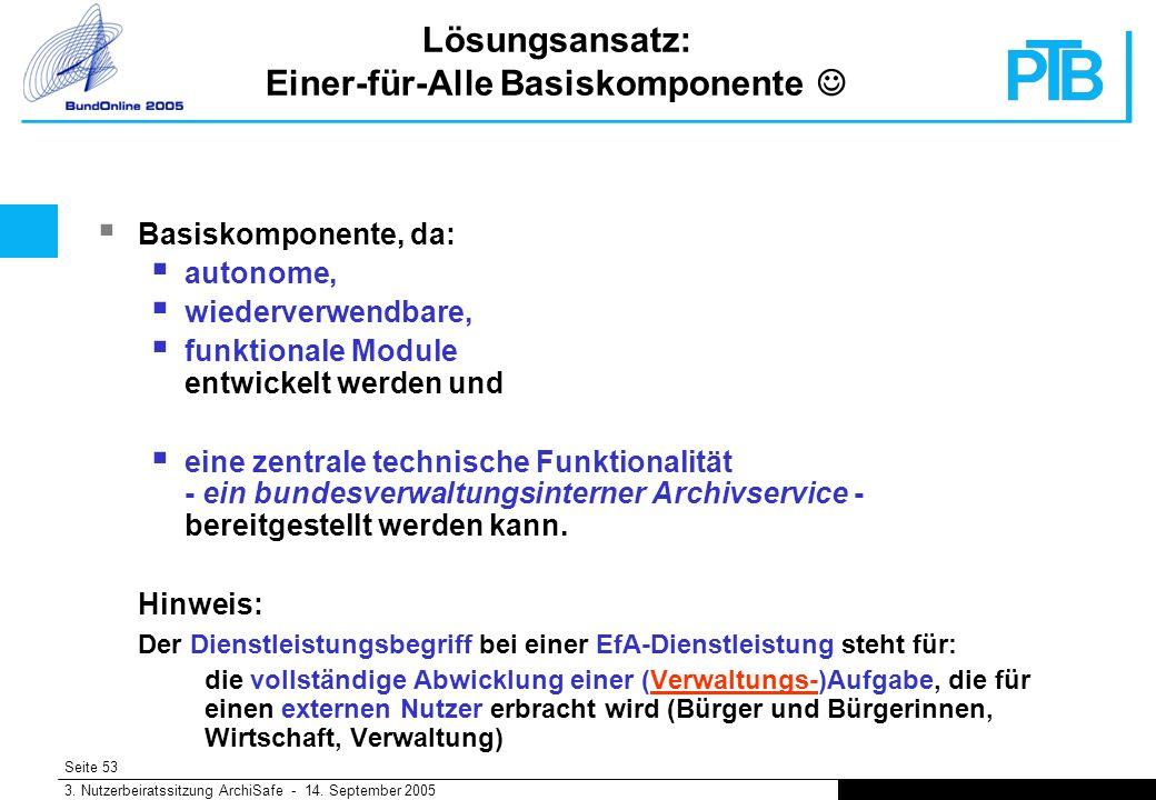 Seite 53 3. Nutzerbeiratssitzung ArchiSafe - 14.