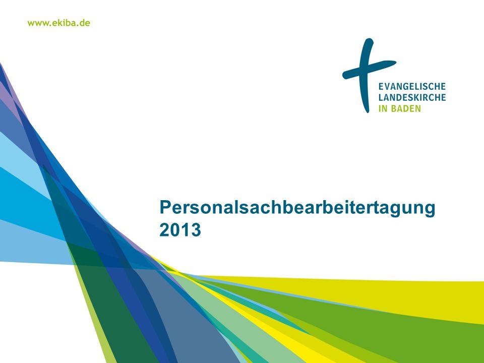 Personalsachbearbeitertagung 2013