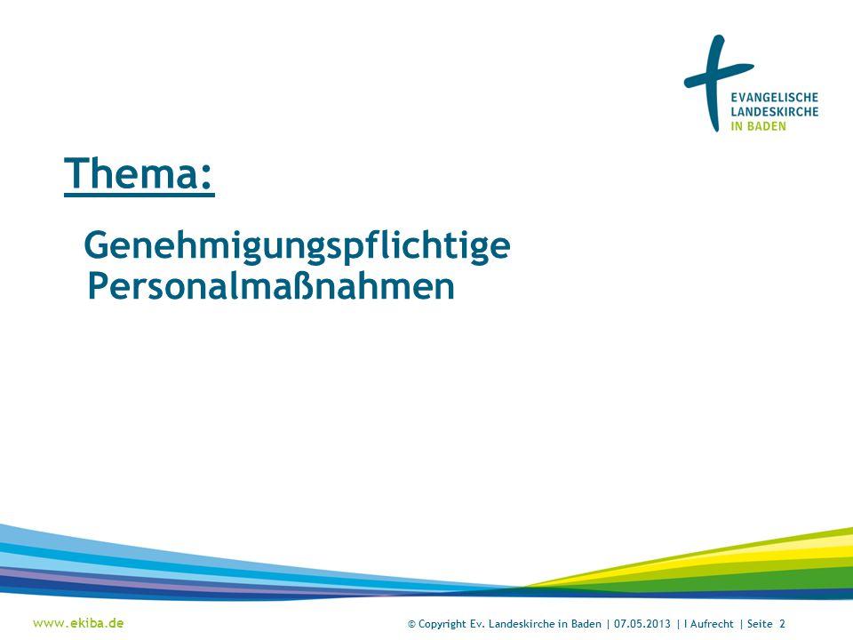 www.ekiba.de Rubrik / Übergeordnetes Thema © Copyright Ev.