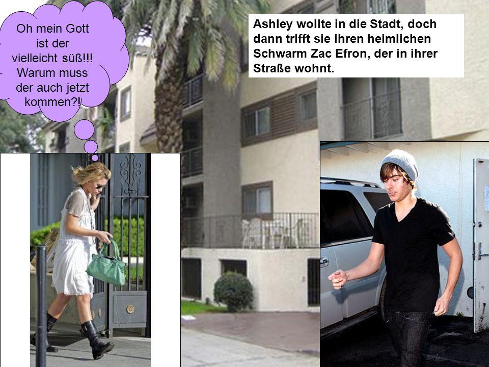 Ashley wollte in die Stadt, doch dann trifft sie ihren heimlichen Schwarm Zac Efron, der in ihrer Straße wohnt.