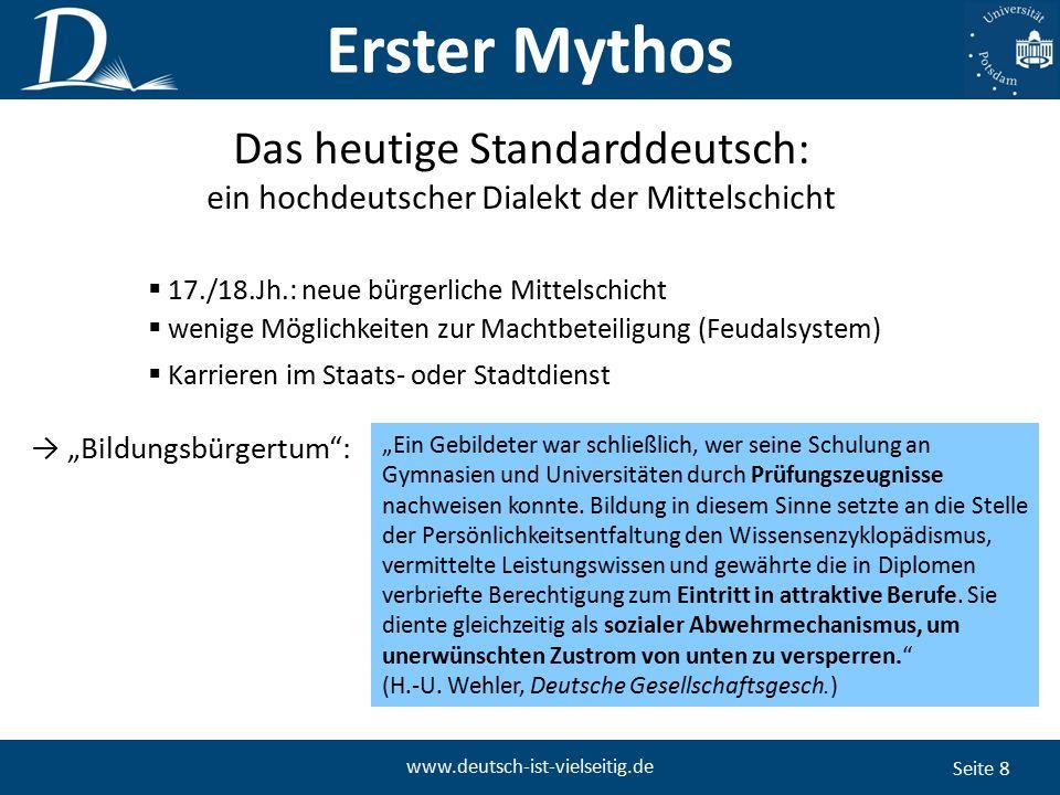 """Seite 19 www.deutsch-ist-vielseitig.de """"Derwisch: Lässt sich Aus einem Derwisch denn nichts, gar nichts machen."""