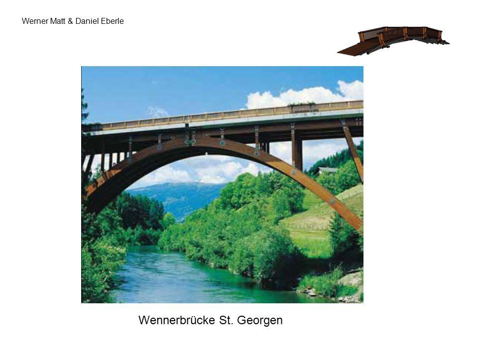 Werner Matt & Daniel Eberle Wennerbrücke St. Georgen