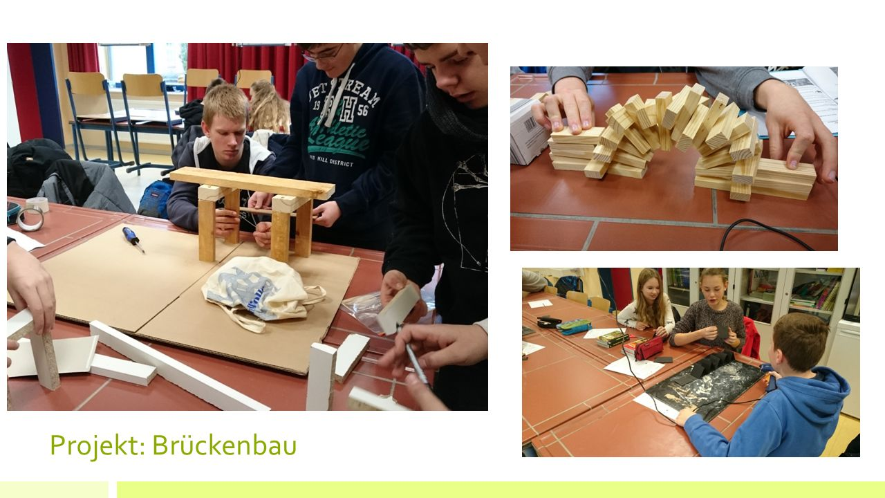 Projekt: Brückenbau