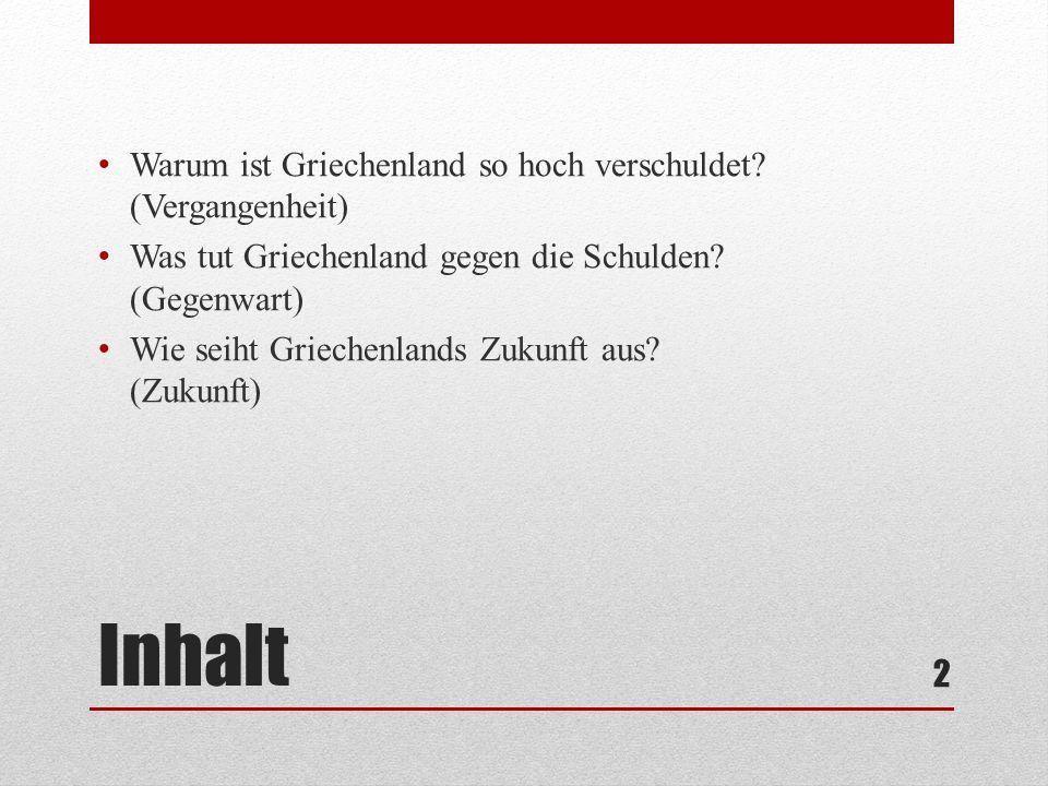 Quellen Der größte Raubzug der Geschichte (Buch) de.statista.com/statistik/daten/studie/167459/umfrage/staatsver schuldung-von-griechenland/ www.spiegel.de/wirtschaft/soziales/euro-krise-die-aktuelle- lage-in-griechenland-a-858006.html de.wikipedia.org/wiki/Griechische_Finanzkrise drs.srf.ch/www/de/drs/190512.wie-es-zur-schuldenkrise- kam.html www.tagesschau.de/wirtschaft/dossiergriechenland104.html www.wiwo.de/politik/europa/griechenland-griechen-sehen- fuer-2013-schwarz/7578166.html www.spiegel.de/wirtschaft/soziales/regierung-in-griechenland- erwartet-schrumpfen-der-wirtschaft-fuer-2013-a-858848.html 13
