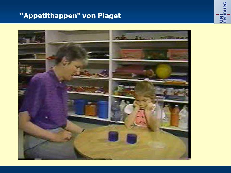 Appetithappen von Piaget
