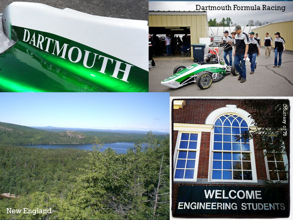 Courtesy of TS New England Dartmouth Formula Racing