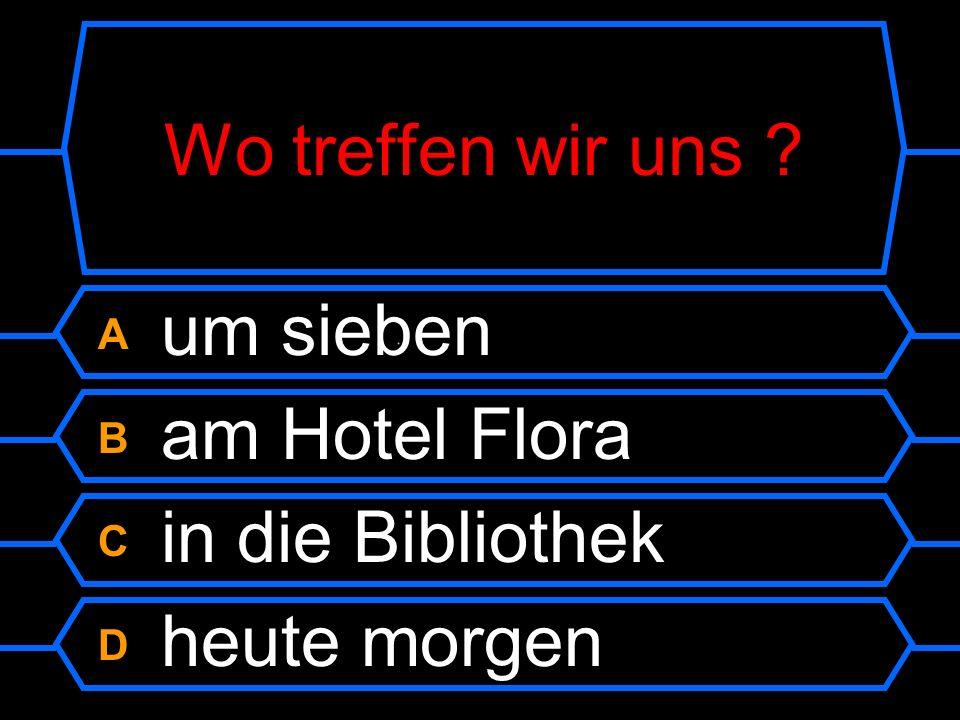 Wohnst du in der Stadt.A Nein, in Österreich. B Ja, auf dem Lande.