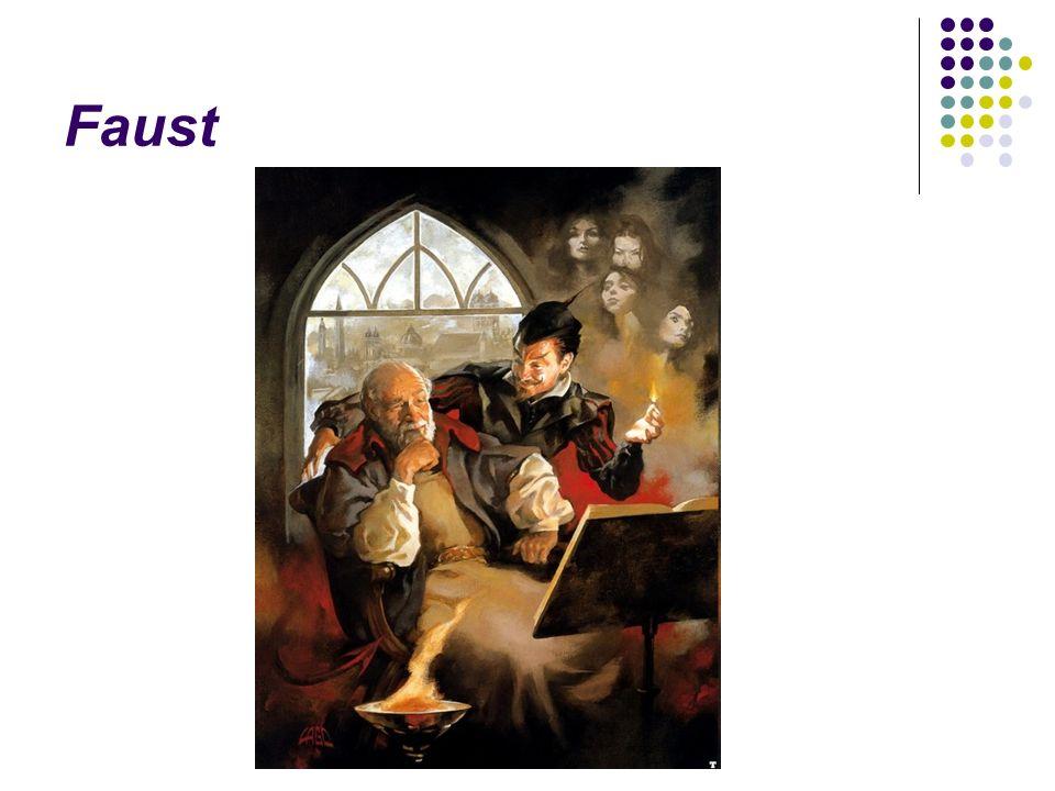Faust (1773-1832) Urfaust (1775, 1887) Faust, ein Fragment (1790) Faust, der Tragödie erster Teil (1808 ← Schiller) Faust, der Tragödie zweiter Teil (1832) ← das Leben des halb legendären, halb historischen Doktor Faustus (16.