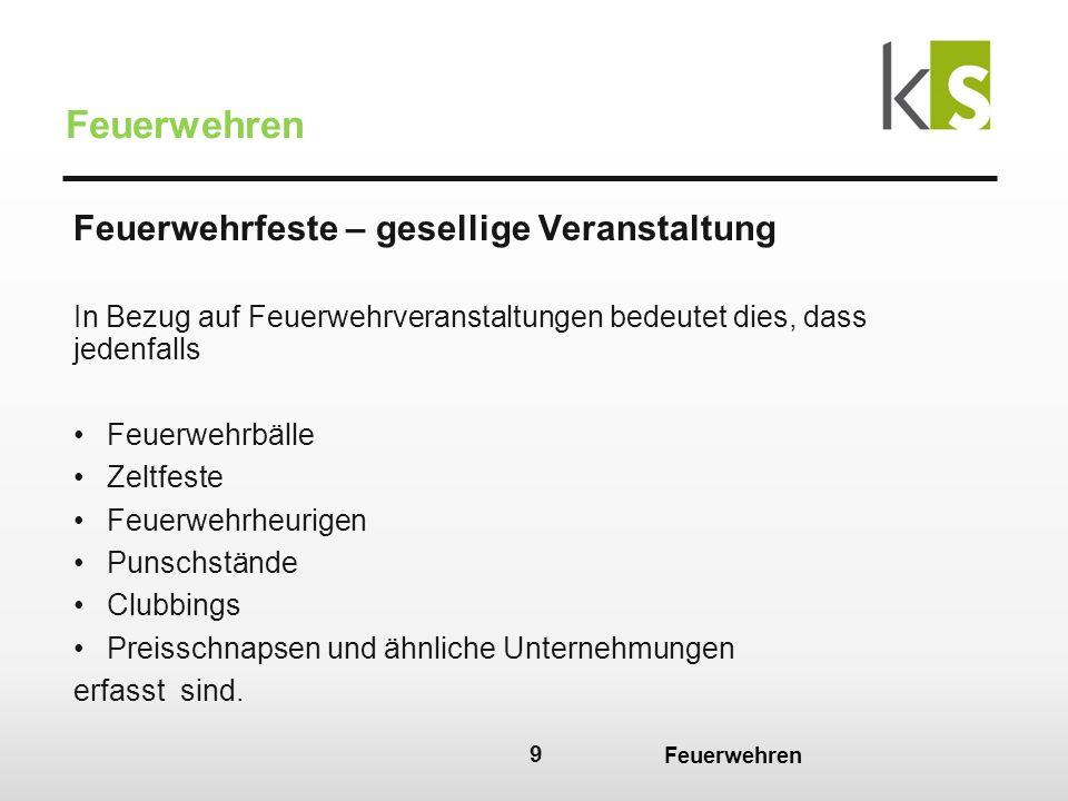20 Feuerwehren BgA – Beleg und Registrierkassenpflicht : Registrierkassenpflicht: Bei Jahresumsatz ab EUR 15.000 netto je Betrieb, sofern die Barumsätze EUR 7.500,00 überschreiten.