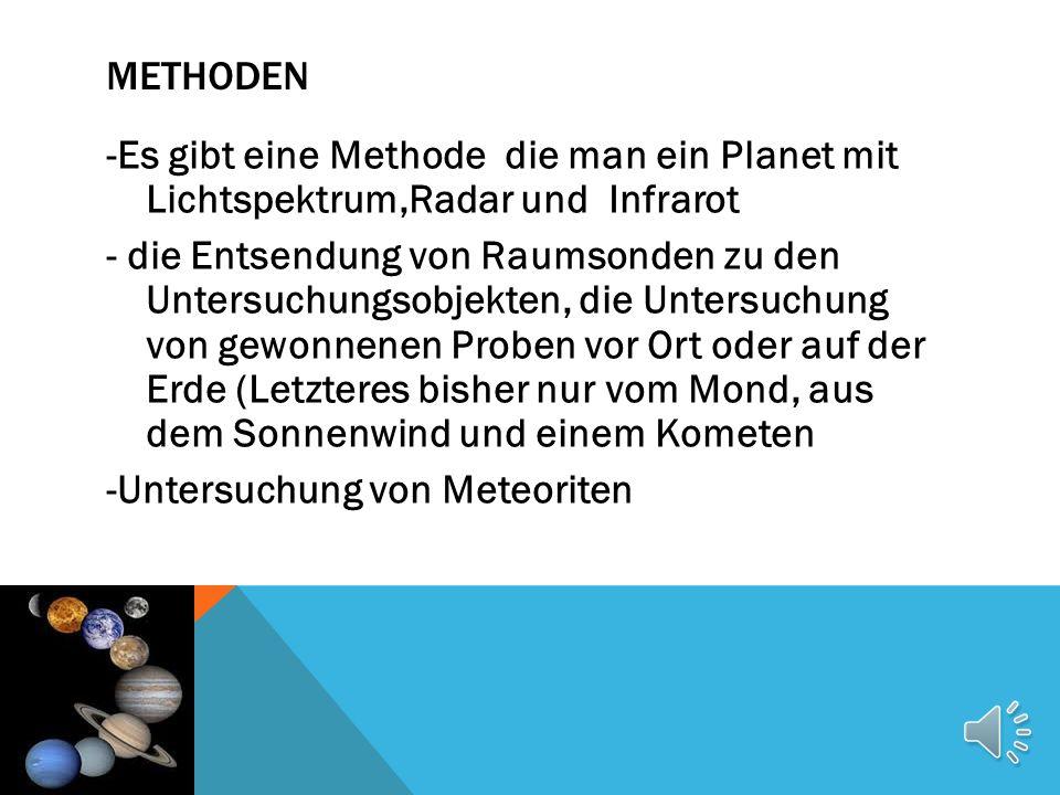 GEBIETE -ende 20 Jahrhundert konnte man Gaswolken aus nackten Augen beobachten -nach 1993 wurden die gegenstände von unseren Sonnensystem beschraäkt -die Entstehung des solaren Planetensystems, -die Entwicklung des solaren Planetensystems, -die Entstehung, Entwicklungsgeschichte und Eigenschaften der einzelnen planetaren Objekte im Sonnenszstem.