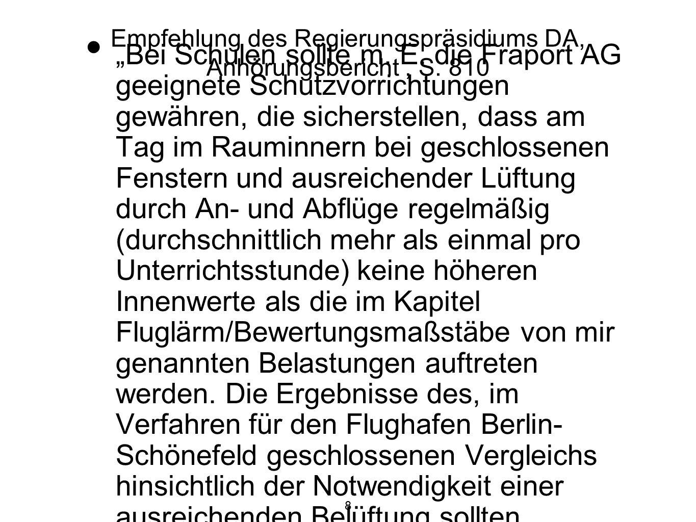 8 Empfehlung des Regierungspräsidiums DA, Anhörungsbericht, S.