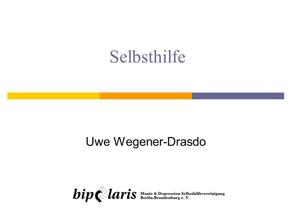 1213. November 2010Uwe Wegener-Drasdo: Selbsthilfe und Empowerment