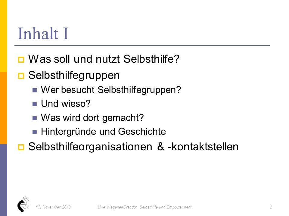  www.nakos.de : Hintergründe, Zahlen, Fakten zur Selbsthilfe www.nakos.de  www.sekis.de: Berliner Selbsthilfe Kontakt- und Informationsstelle www.sekis.de  www.sekiz.de: Potsdamer Selbsthile-, Kontakt- und Informationszentrum www.sekiz.de  www.bpe-online.de: Bundesverband Psychiatrie-Erfahrener (BPE) www.bpe-online.de  www.psychiatrie.de/familienselbsthilfe/: Bundesverband Angehöriger psychisch Kranker (ApK) www.psychiatrie.de/familienselbsthilfe/  www.apk-berlin.de: Angehörige psychisch Kranker Berlin www.apk-berlin.de  www.trialog-psychoseseminar.de: Psychoseminare, Trialog www.trialog-psychoseseminar.de  www.bipolaris.de: bipolaris – Manie und Depression Selbsthilfevereinigung Berlin-Brandenburg www.bipolaris.de  www.SHG-balance.de: Berliner Selbsthilfegruppe balance www.SHG-balance.de  www.stimmenhoeren.de: Netzwerk Stimmenhören www.stimmenhoeren.de  www.krisenpension.de Krisenpension und Hometreatment gGmbH www.krisenpension.de  www.psychose.de: Portal zu Psychose und Bipolarer Störung www.psychose.de  www.psychiatrie.de: Sozial-/ Gemeinde-Psychiatrisches Portal www.psychiatrie.de Websites 5313.
