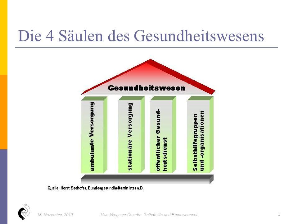 Die 4 Säulen des Gesundheitswesens 413.