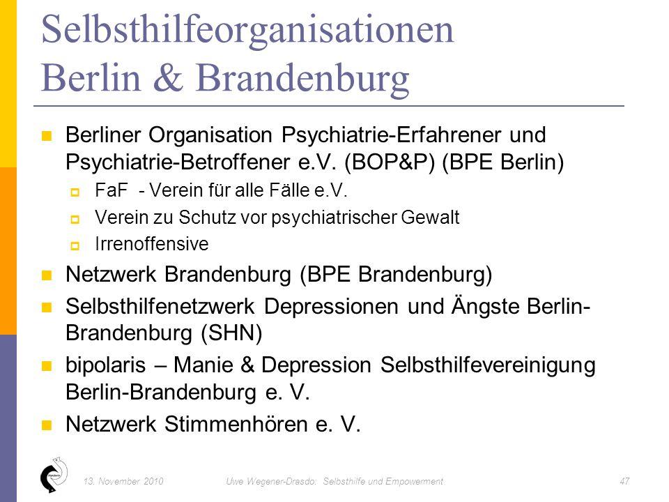 Berliner Organisation Psychiatrie-Erfahrener und Psychiatrie-Betroffener e.V.