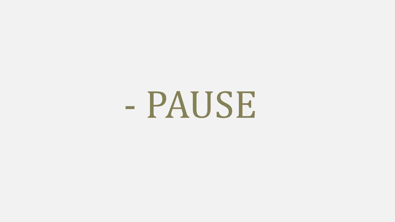 - PAUSE