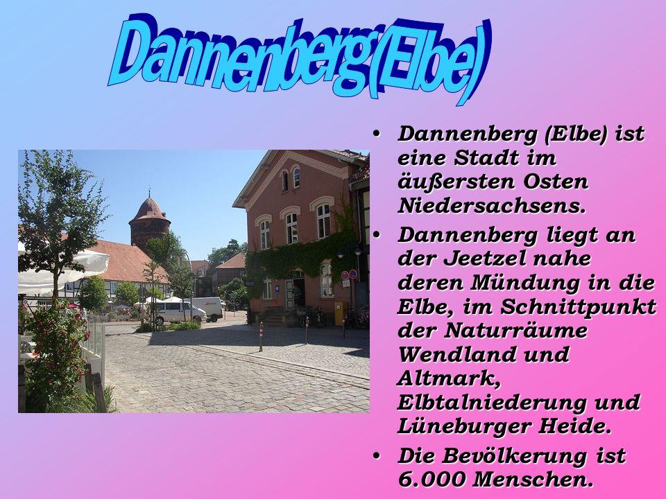 Dannenberg (Elbe) ist eine Stadt im äußersten Osten Niedersachsens.