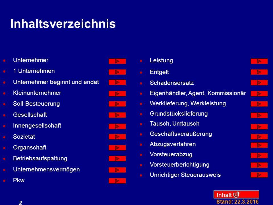 Inhalt Stand: 22.3.2016 23 GmbH KG 100 % 0 % 100 % Axel