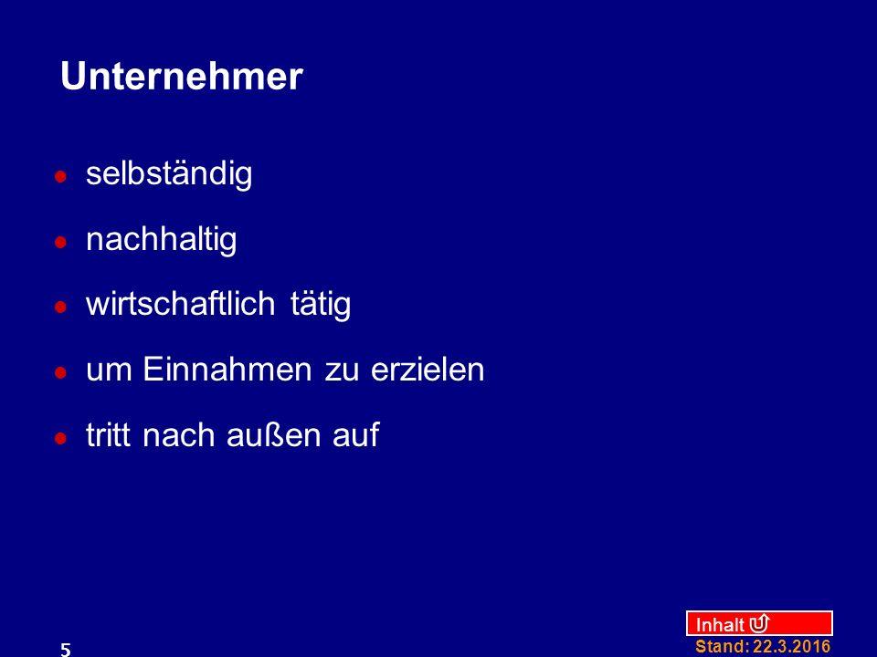 Inhalt Stand: 22.3.2016 36 Beispiel Betriebsaufspaltung Einheits-GmbH & Co KG