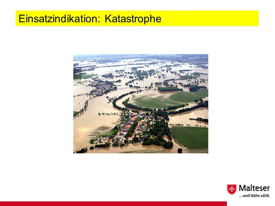 25Titel | Abteilung | Datum Einsatzindikation: Katastrophe