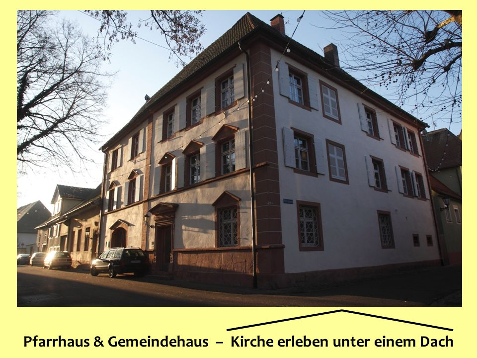Förderkreis »Gemeindehaus St. Laurentius« Pfarrhaus & Gemeindehaus – Kirche erleben unter einem Dach