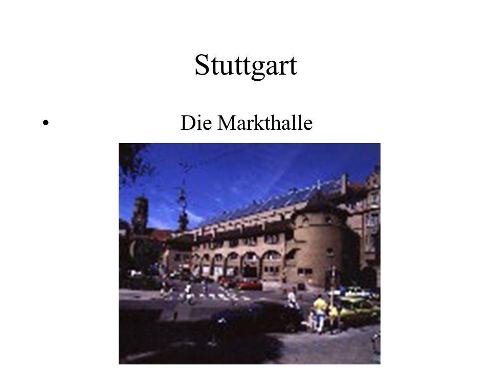 Stuttgart Die Markthalle