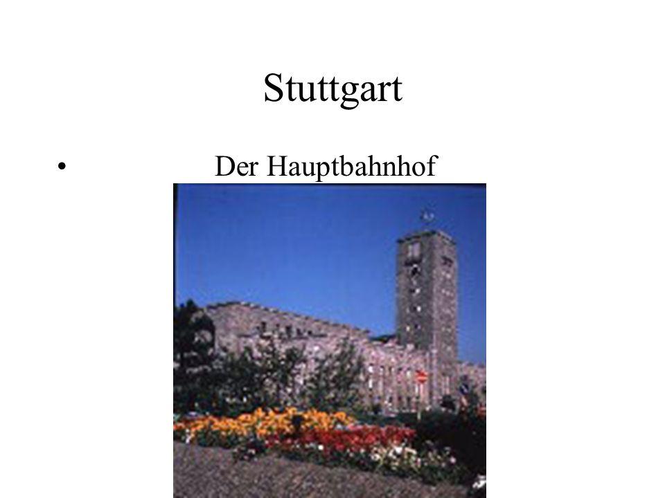 Stuttgart Der Hauptbahnhof