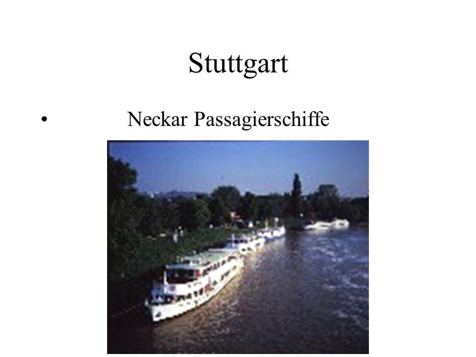 Stuttgart Neckar Passagierschiffe