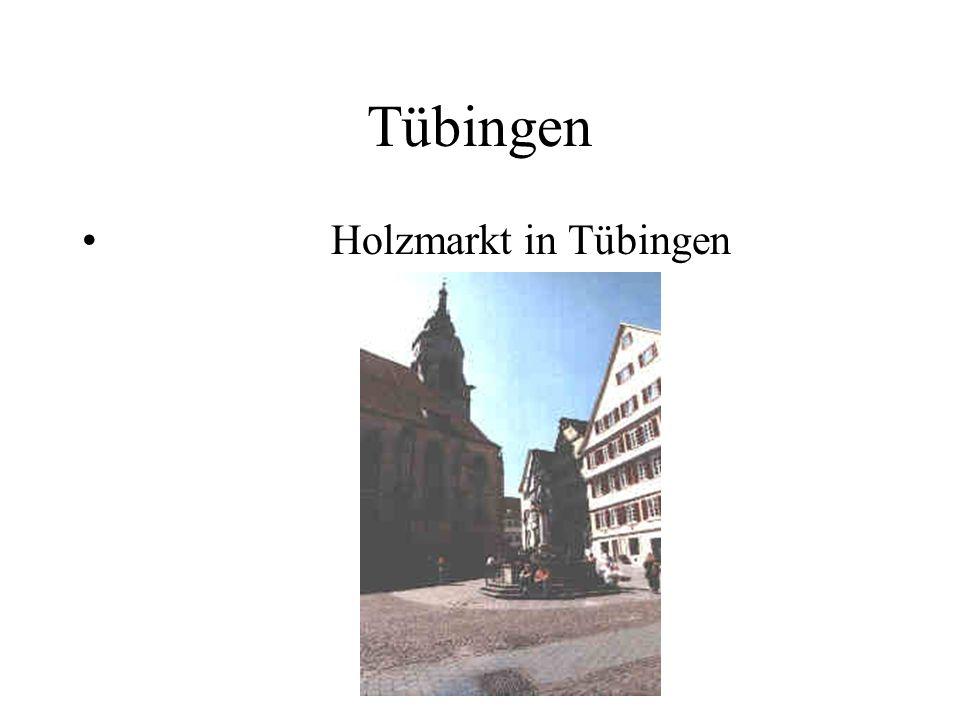 Tübingen Holzmarkt in Tübingen