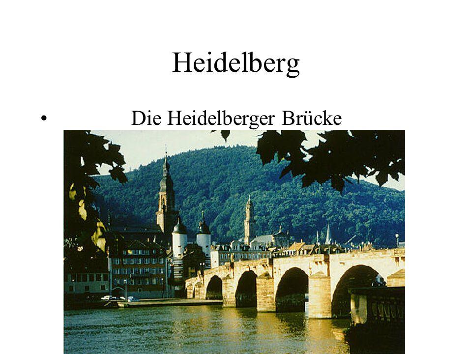 Heidelberg Die Heidelberger Brücke