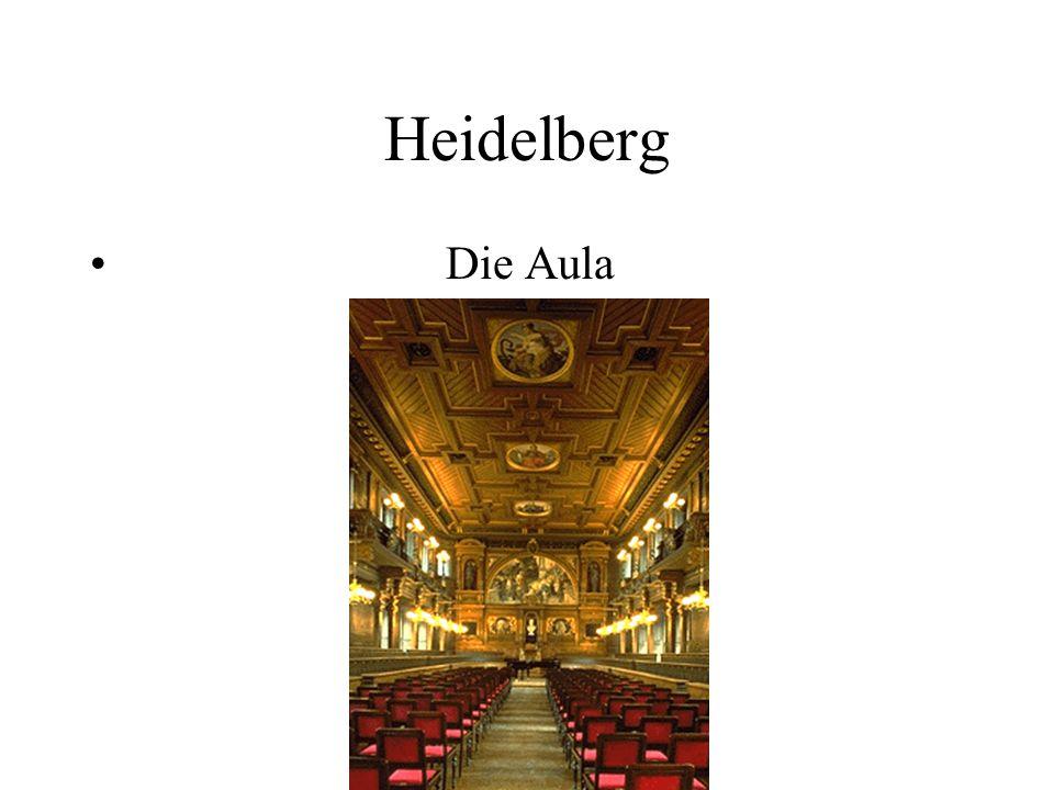 Heidelberg Die Aula