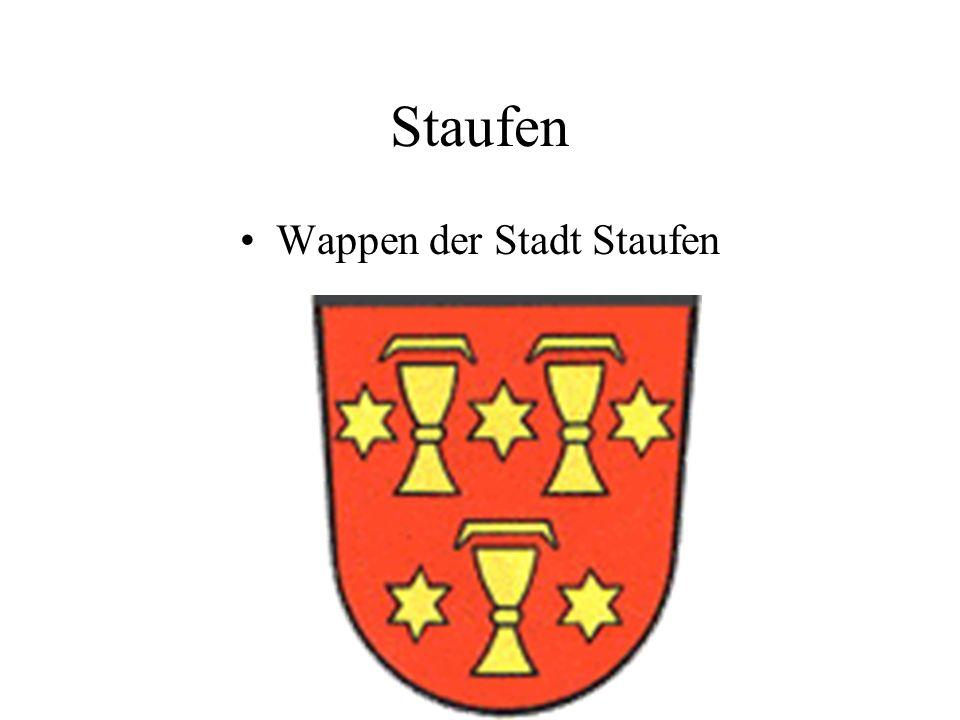Staufen Wappen der Stadt Staufen