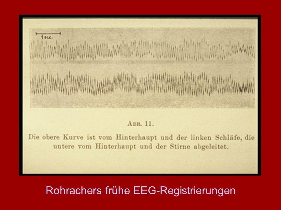 Rohrachers frühe EEG-Registrierungen