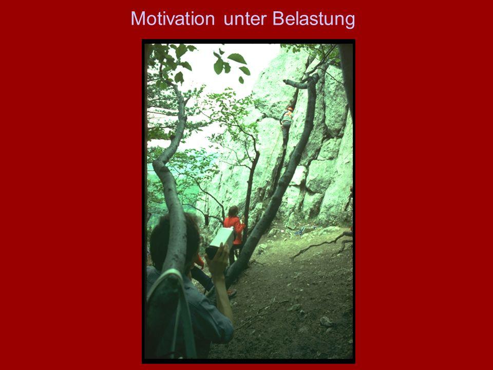 Motivation unter Belastung
