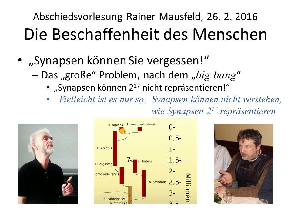 Das Modell und seine Lösungen 1920: Modell vorgeschlagen von W.