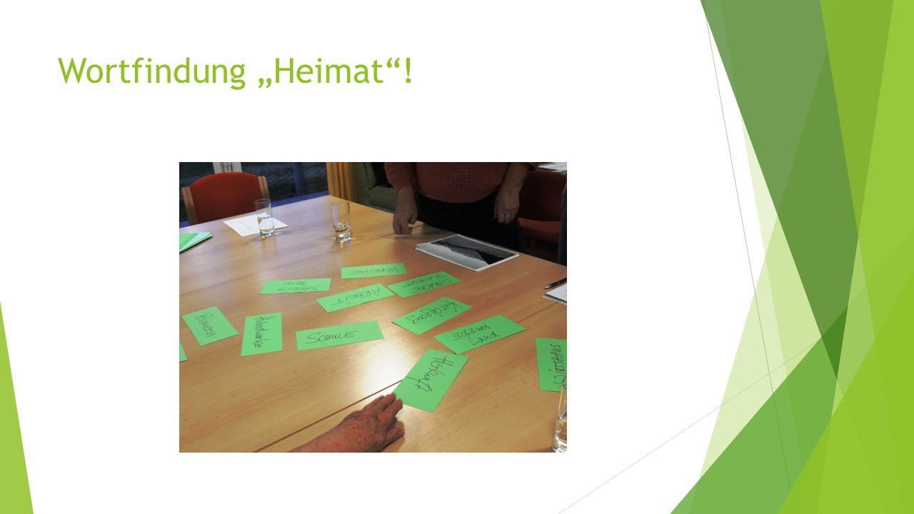 """Wortfindung """"Heimat !"""