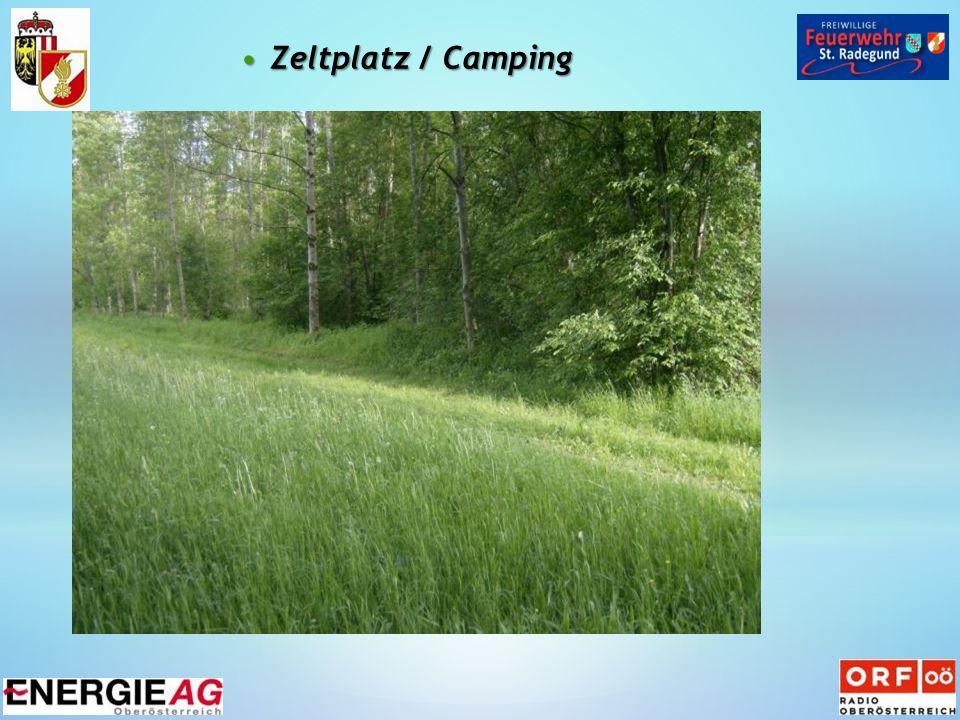 Zeltplatz / CampingZeltplatz / Camping