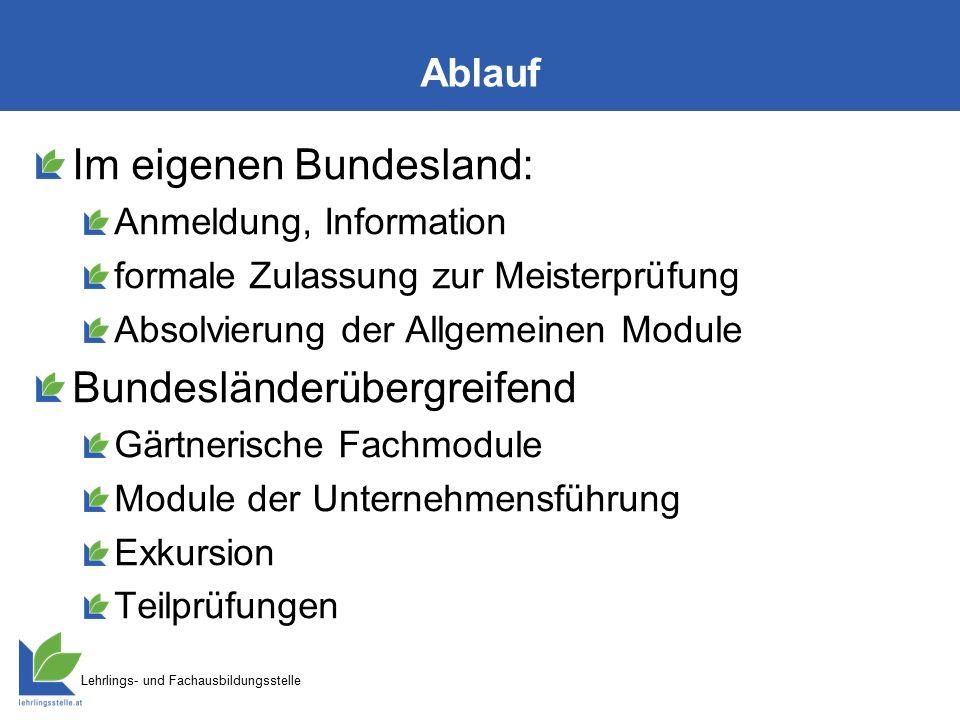 Lehrlings- und Fachausbildungsstelle Zeitplan Anmeldung (für alle Module dieses Winters) bis 15.09.2015 fixe Zusage Kursplätzeab 01.10.