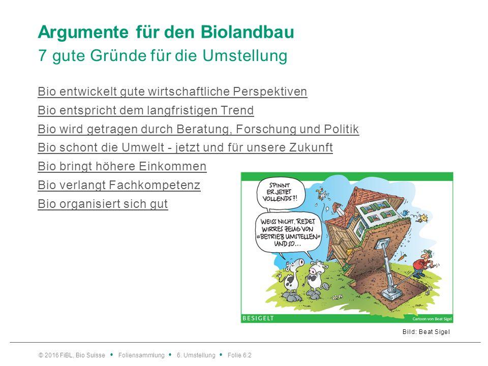 Wie Bio Herausforderungen anpackt Grünlandbetrieb © 2016 FiBL, Bio Suisse Foliensammlung 6.