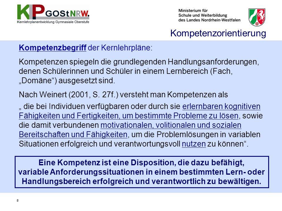 Vom Lehrplan (1999) zum Kernlehrplan (2013) – Kontinuitäten und die wichtigsten Neuerungen 29