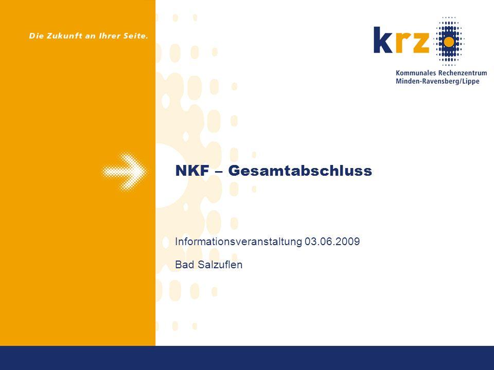 NKF – Gesamtabschluss Informationsveranstaltung 03.06.2009 Bad Salzuflen