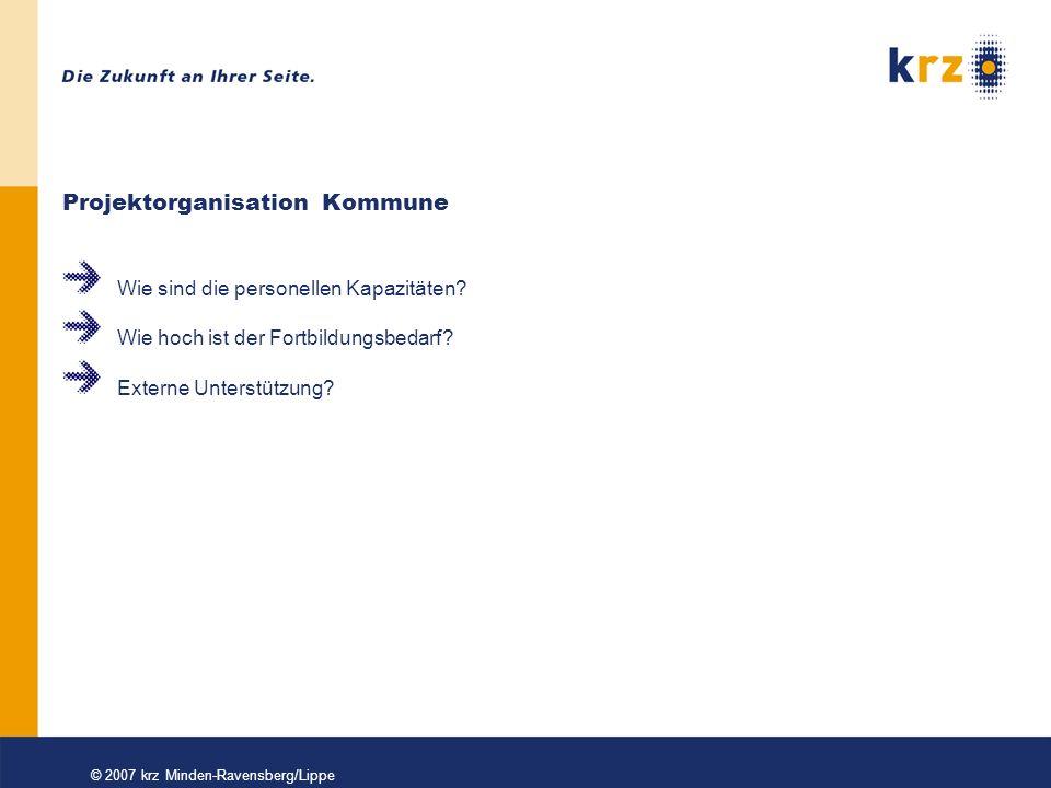 © 2007 krz Minden-Ravensberg/Lippe Vielen Dank für Ihre Aufmerksamkeit!