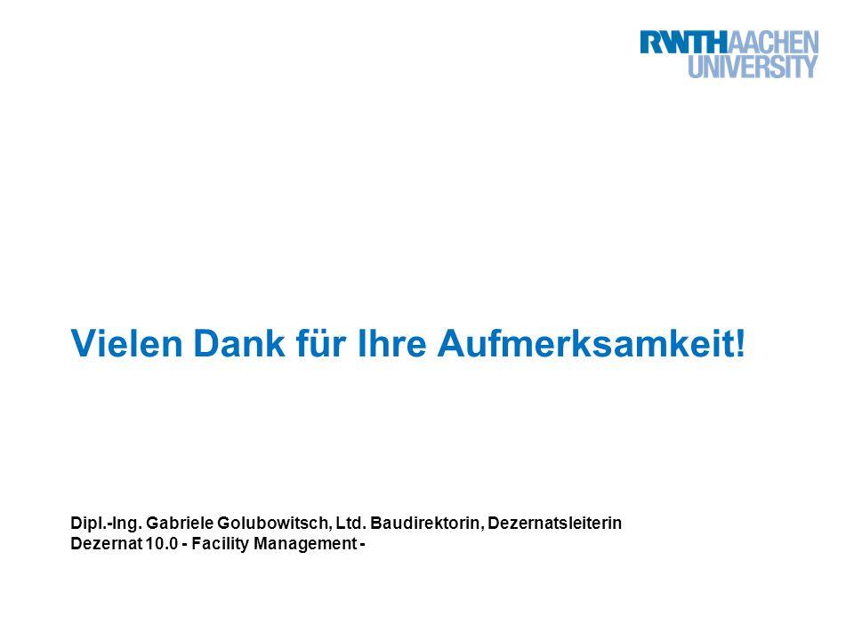 Vielen Dank für Ihre Aufmerksamkeit. Dipl.-Ing. Gabriele Golubowitsch, Ltd.