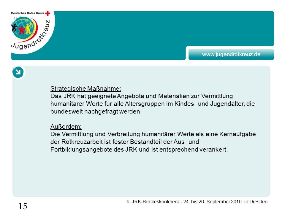15 4. JRK-Bundeskonferenz - 24. bis 26.