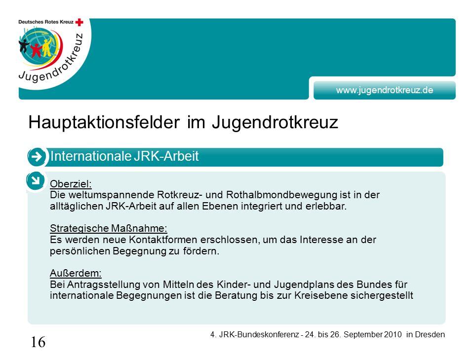 16 4. JRK-Bundeskonferenz - 24. bis 26.