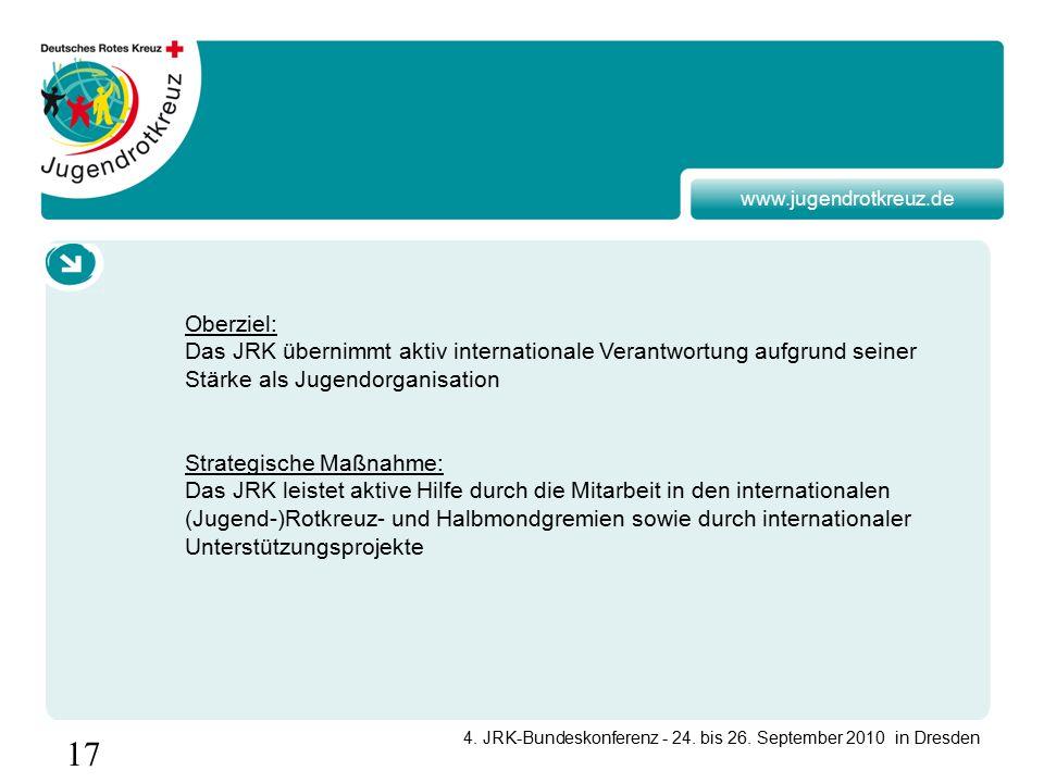 17 4. JRK-Bundeskonferenz - 24. bis 26.