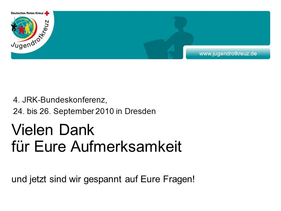 www.jugendrotkreuz.de 4. JRK-Bundeskonferenz, 24.