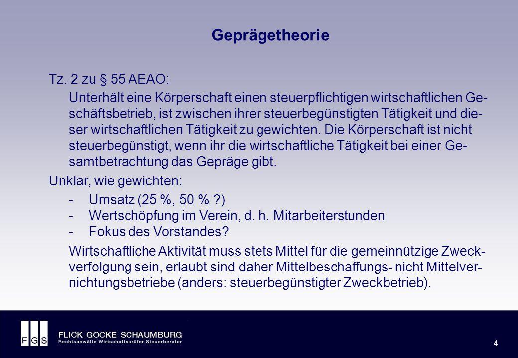 FLICK GOCKE SCHAUMBURG 4 4 Geprägetheorie Tz.
