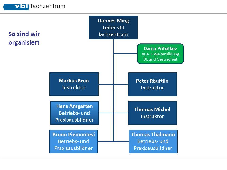 Peter Räuftlin Markus Brun Hannes Ming Thomas Michel Fahrlehrer